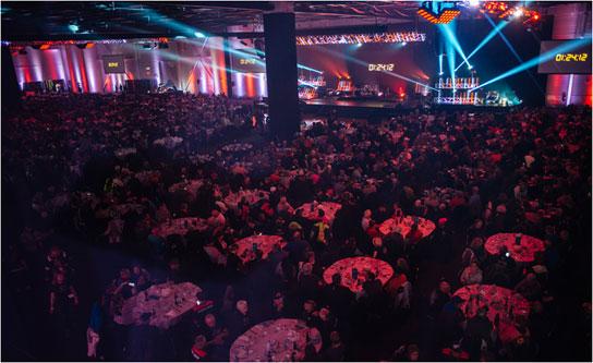 Grande salle banquet