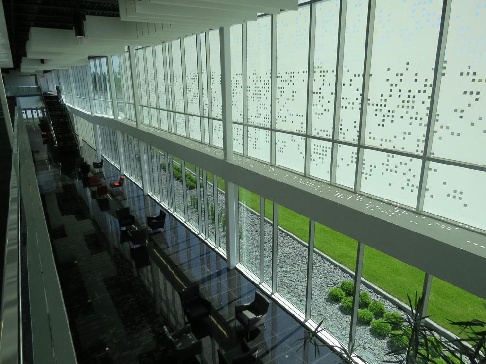 Lobby Signature (vue de l'étage)