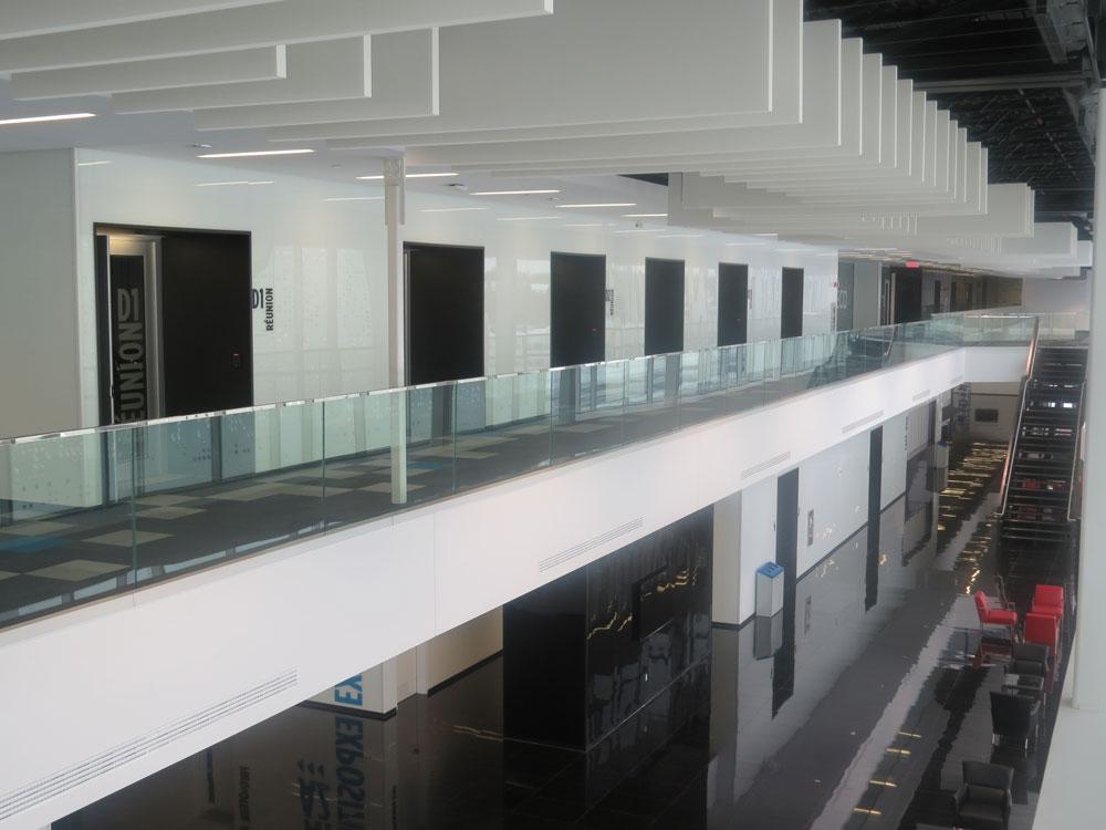 Lobby (vue des salles de l'étage)